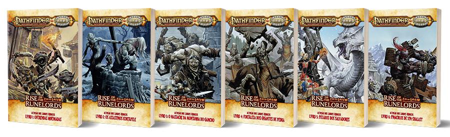 Coleção Ascensão dos Lordes Rúnicos