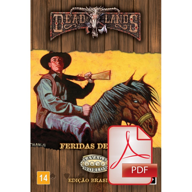 Deadlands Oeste Estranho: Feridas de Sela (PDF)