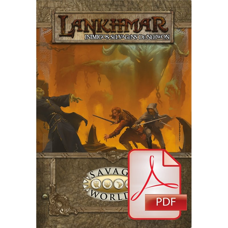 Lankhmar: Inimigos Selvagens de Nehwon (PDF)