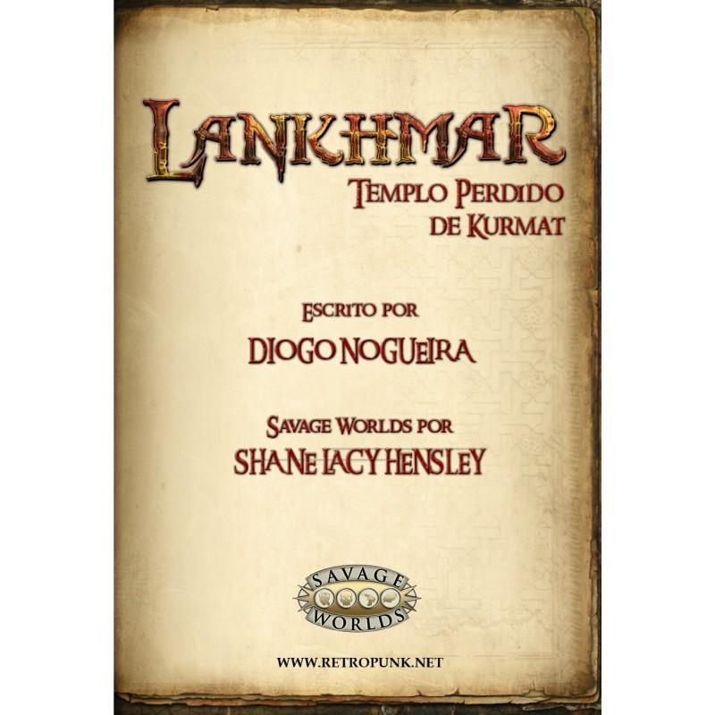 Lankhmar: Templo Perdido de Kurmat (PDF)