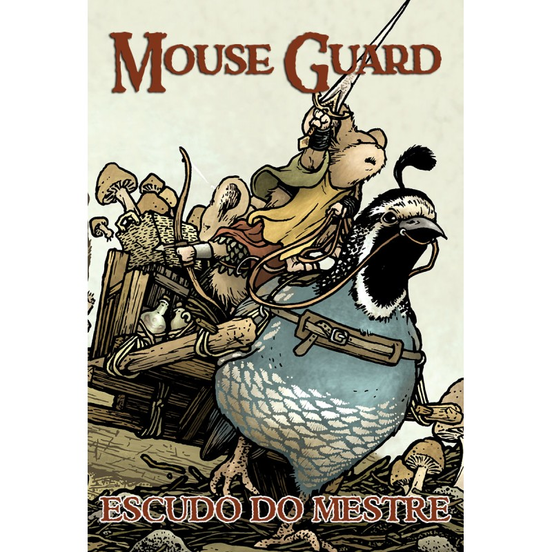 Mouse Guard RPG: Escudo do Mestre