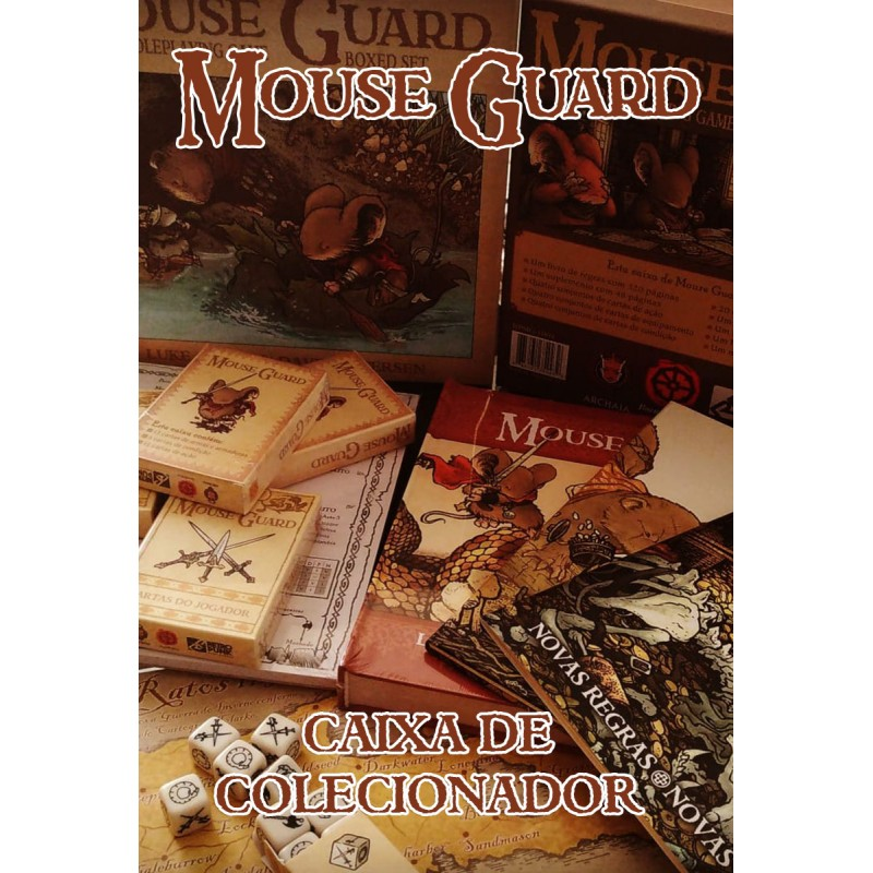 Mouse Guard RPG: Caixa de Colecionador