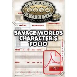 Savage Worlds Edição Aventura: Character's Folio (PDF)